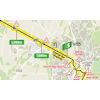 Tour de France 2021: intermediate sprint route stage 12 - source:letour.fr