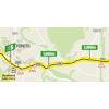 Tour de France 2021: intermediate sprint route stage 13 - source:letour.fr