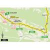 Tour de France 2021: intermediate sprint route stage 14 - source:letour.fr