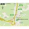 Tour de France 2021: intermediate sprint route stage 17 - source:letour.fr
