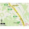Tour de France 2021: intermediate sprint route stage 18 - source:letour.fr
