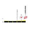 Tour de France 2021: finish profile stage 19 - source:letour.fr