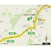Tour de France 2021: intermediate sprint route stage 6 - source:letour.fr