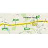 Tour de France 2021: intermediate sprint route stage 7 - source:letour.fr