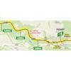 Tour de France 2021: intermediate sprint route stage 8 - source:letour.fr