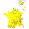 Tour de France 2022: entire route - source:letour.fr