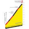 Tour de France 2022 stage 11: profile Col du Granon - source:letour.fr