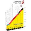 Tour de France 2022 stage 17: profile climb naar Peyragudes - source:letour.fr