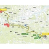 Tour de Pologne 2015 Route 4th stage: Jaworzno - Nowy Sącz - source: tourdepologne.pl