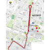 Tour de Pologne 2020: route finale stage 1 - source:tourdepologne.pl
