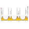 Tour de Pologne 2020: profile 4th stage - source:tourdepologne.pl