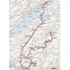 Tour de Romandie 2015 - Route stage 4: La Neuveville – Fribourg