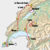 Tour de Romandie 2019 Route