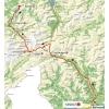 Tour de Suisse 2014 Route stage 2: Bellinzona - Sarnen