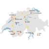 Tour de Suisse 2014 - The route and the stages (source: tourdesuisse.ch)