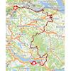 Tour de Suisse 2021: route stage 2 - source: tourdesuisse.ch