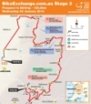 Tour Down Under 2014 Stage 2: De route from Prospect naar Stirling, 150,0 kilometers