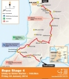 Tour Down Under 2014 Stage 4: De route from Unley to Victor Harbor, 148,5 kilometers