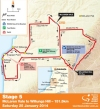 Tour Down Under 2014 Stage 4: De route from McLaren Vale to Willunga Hill, 151,5 kilometers