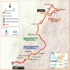 Tour Down Under 2015: Map stage 1 - Tanunda - Campbelltown - source: www.tourdownunder.com.au