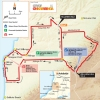 Tour Down Under 2015: Map stage 5 - McLaren Vale - Willunga Hill - source: www.tourdownunder.com.au