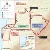 Tour Down Under 2015: Map stage 5 - McLaren Vale - Willunga Hill - source: www.tourdownunder.com.au