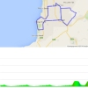 Tour Down Under 2015 stage 5: Route and profile - source: tourdownunder.com.au