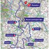 Tour of Britain 2018 Route 4th stage: Nuneaton - Leamington Spa - source: www.tourofbritain.co.uk