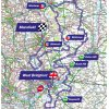 Tour of Britain 2018 Route 7th stage: West Bridgford - Mansfield - source: www.tourofbritain.co.uk