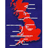 Tour of Britain 2021: entire route - source: www.tourofbritain.co.uk