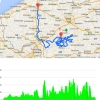 Tour of Flanders 2015: Route and profile - source: www.rondevanvlaanderen.be