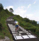 Tour of Lombardy Wall of Sormano