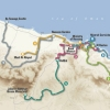 Tour of Oman 2014: The route (source: GeoAtlas)