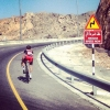 Tour of Oman 2014 stage 4: Greg Van Avermaet, the survivor of a breakaway group - source www.tourofoman.om
