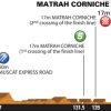 Tour of Oman 2014 Profile stage 6 from As Sifah to Matrah Corniche