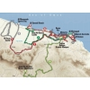 Tour of Oman 2015: The route - source: GeoAtlas