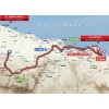 Tour of Oman 2015 Route stage 2: Al Hazm Castle - Al Bustan - source: GeoAtlas