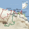 Tour of Oman 2016: All stages - source: GeoAtlas