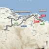 Tour of Oman 2016 Route stage 1: Oman Exhibition Center (Masqat) - Al Bustan - source: GeoAtlas
