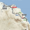 Tour of Oman 2016 Route stage 2: Omantel Head Office – Quriyat - source: GeoAtlas