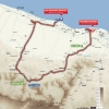 Tour of Oman 2016 Route stage 3: Al Sawadi Beach – Naseem Park - source: GeoAtlas