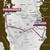 Tour of Qatar 2014 stage 1: From Al Wakra to Dukhan Beach, 135.5 km