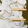 Tour of Qatar 2014 stage 2: From Al Sheenaiya to Al Khor Corniche, 160,5 km