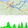 Tour of the Basque Country 2015 stage 1 Bilbao - Bilbao: Route and profile - source: www.itzulia.net