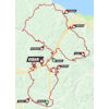 Tour of the Basque Country 2019: route 6th stage - source: www.itzulia.eus