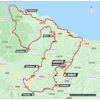 Tour of the Basque Country 2021 Route stage 1 - source: www.itzulia.eus