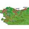 Tour of the Basque Country 2021 Route - source: www.itzulia.eus