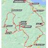 Tour of the Basque Country 2021 Route stage 6 - source: www.itzulia.eus