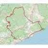 Volta a Catalunya 2021 route stage 1 - source: voltacatalunya.cat/