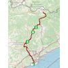 Volta a Catalunya 2021 route stage 3 - source: voltacatalunya.cat/
